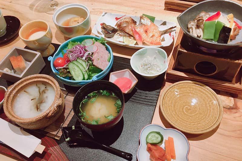 「円かの杜」 朝食