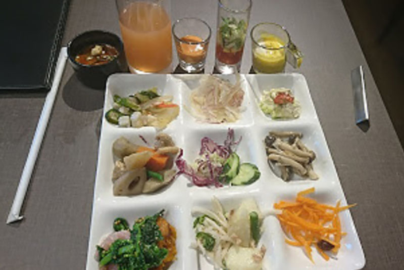 クインテッサホテル大阪ベイ 朝食