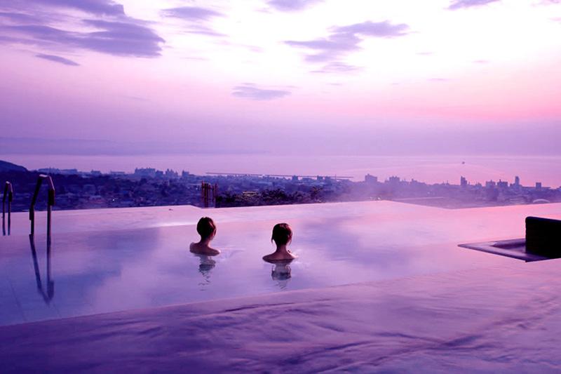 「杉乃井ホテル」の大展望露天風呂