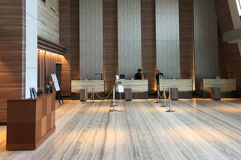 琵琶湖マリオットホテル 館内