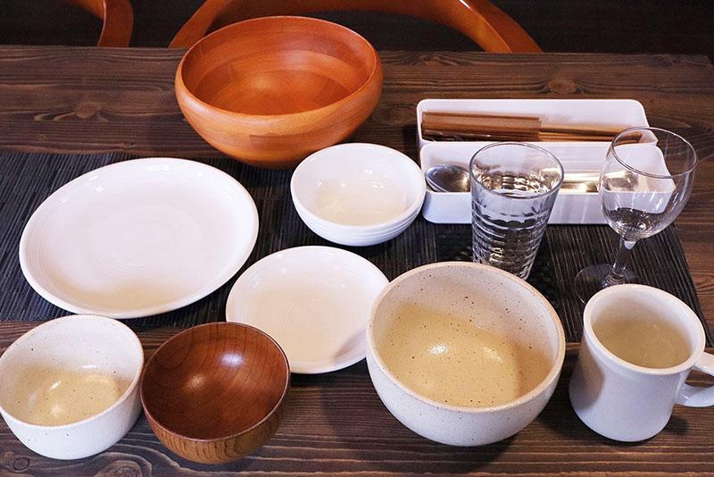 クラスベッソ蓼科 食器