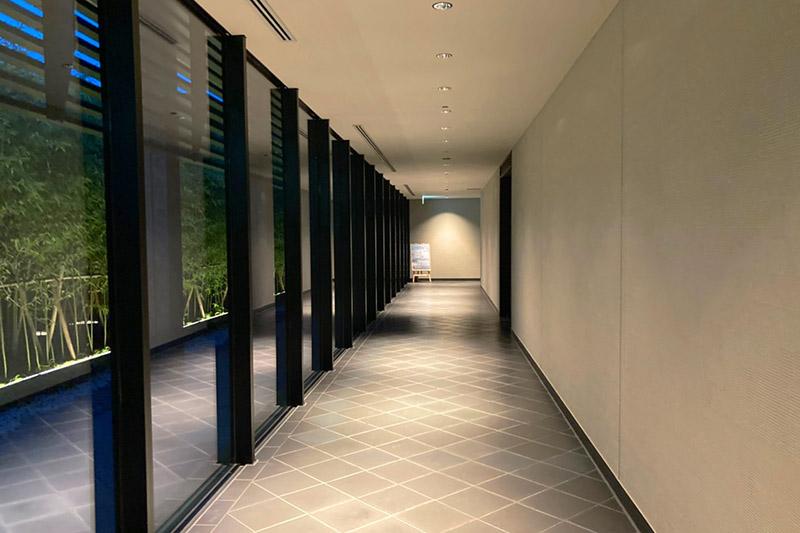 「ホテルクラッド」の館内が新しく綺麗