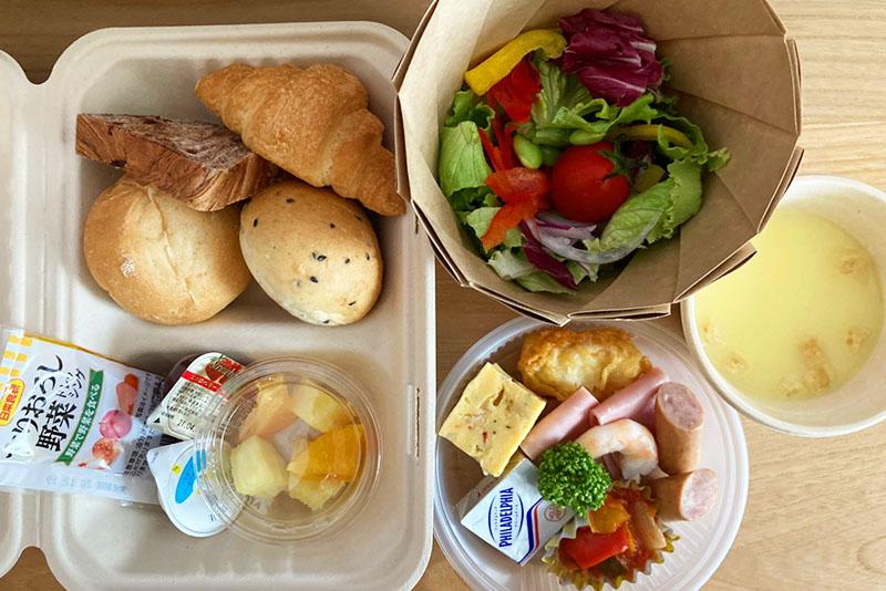 「ホテルクラッド」 朝食