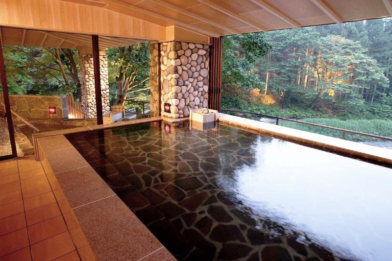 結びの宿 愛隣館 大浴場