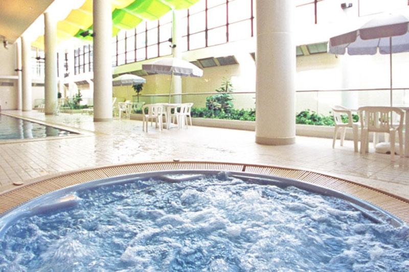 磐梯山温泉ホテル プール