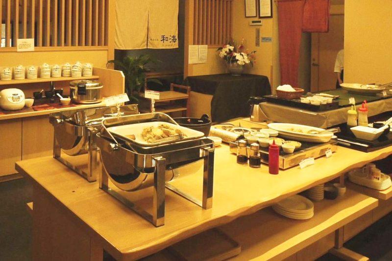 「和蔵の宿」の朝食