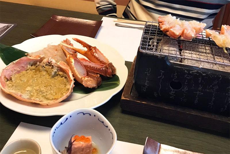 「和蔵の宿」の食事は新鮮魚介ざんまい!