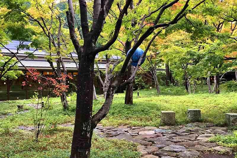 界鬼怒川 中庭