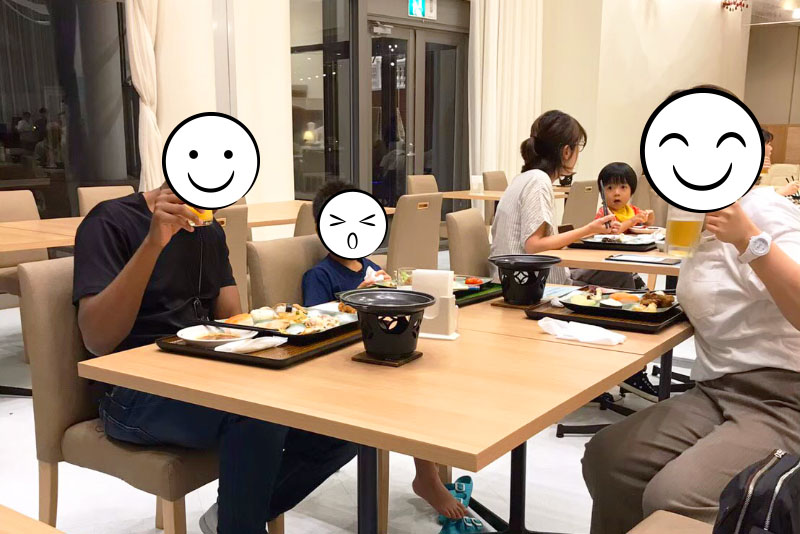 「ANAホリデイインリゾート宮崎」の食事