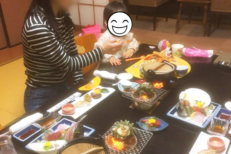親子で大満足!「恵比寿屋」の食事