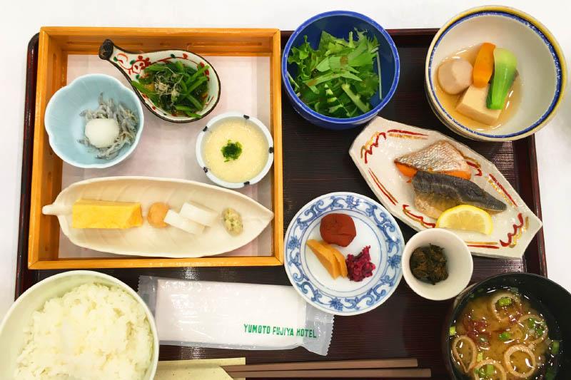 「湯本富士屋ホテル」 朝食