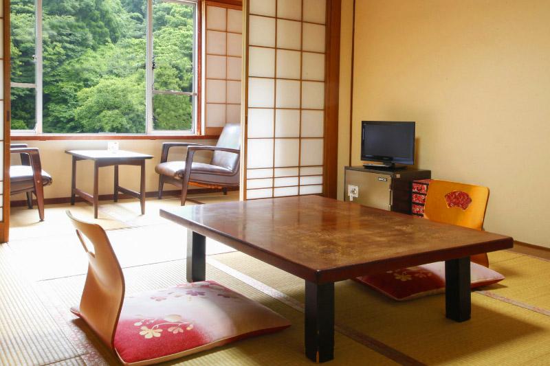 湯原温泉「湯快感 花やしき」の客室