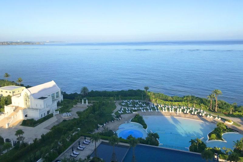 「ホテルモントレ沖縄」の客室は全室オーシャンビュー