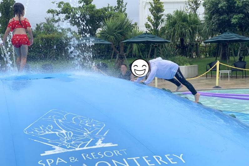 ホテルモントレ沖縄 プール