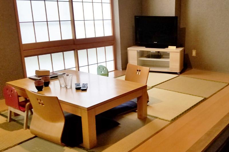 「のうのう箱根」の客室