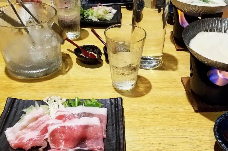 「のうのう箱根」の食事