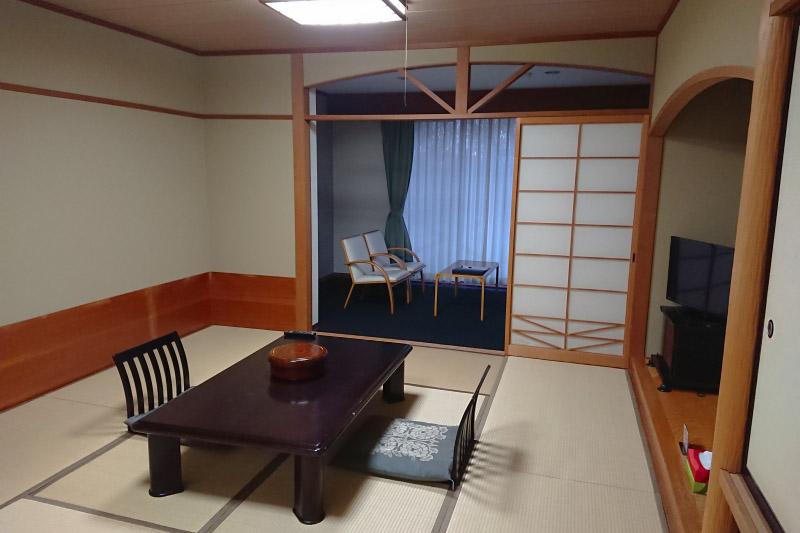 「四季倶楽部 ベルフォーレ那須」の客室