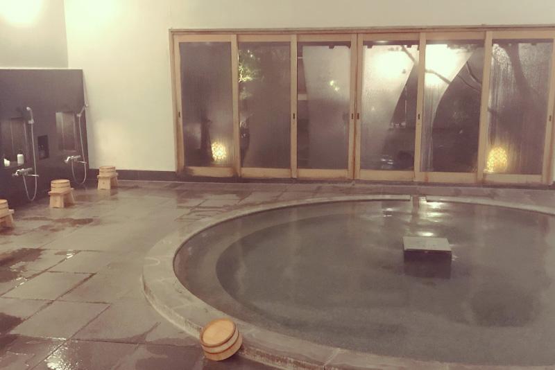 「強羅花壇」の大浴場は24時間利用OK