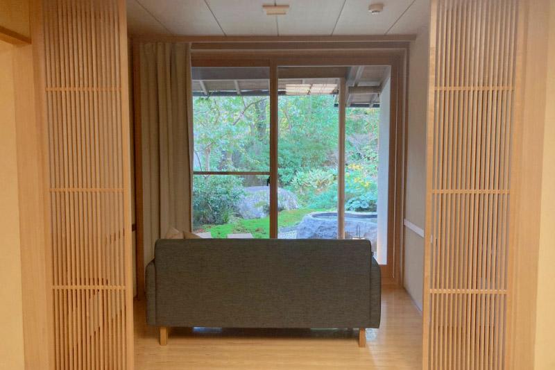 「強羅花壇」の客室