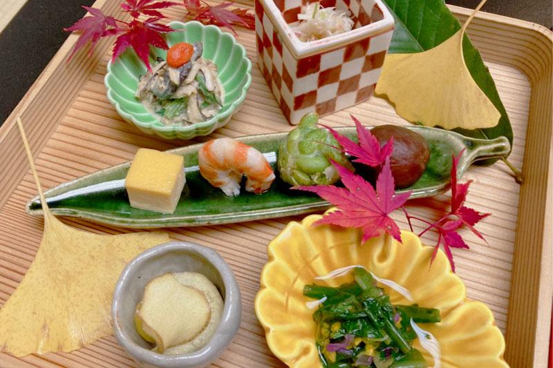 「強羅花壇」の食事はお部屋で