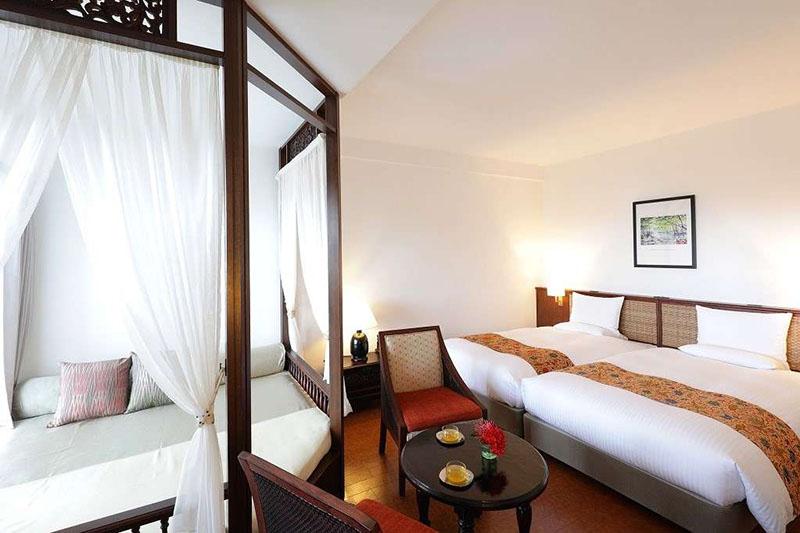 星野リゾート「西表島ホテル」の客室