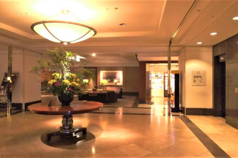 「神戸ベイシェラトン ホテル&タワーズ」の館内