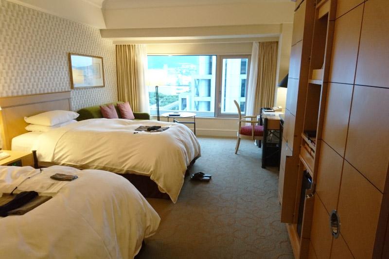 「神戸ベイシェラトン ホテル&タワーズ」の客室