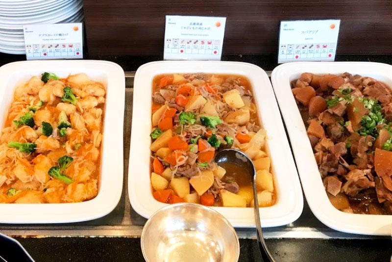 「神戸ベイシェラトン ホテル&タワーズ」の食事