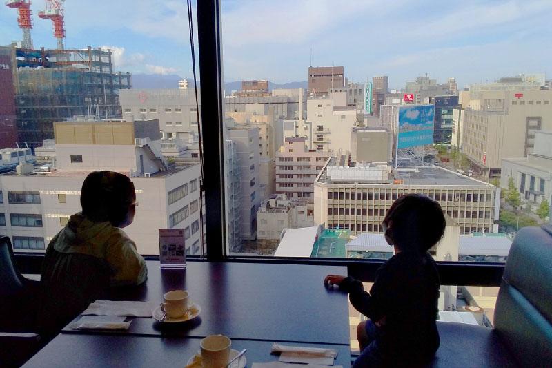 「西鉄イン福岡」の朝食