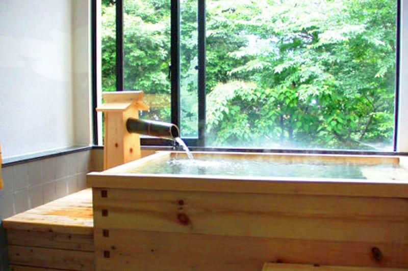 「湯本富士屋ホテル」の家族風呂