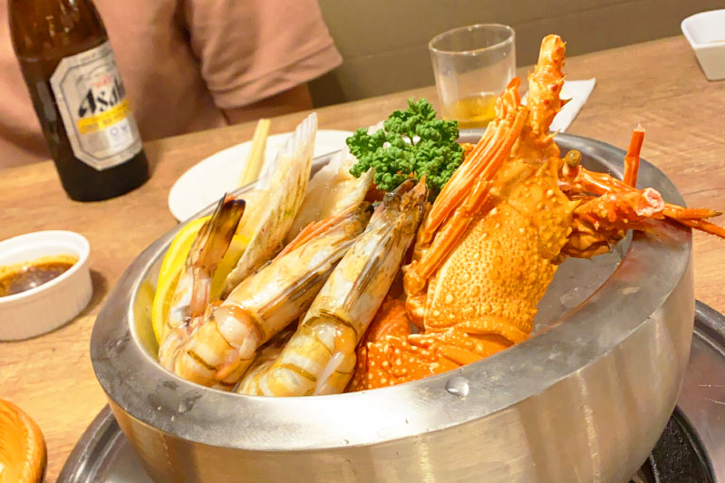 「i+Land nagasaki(アイランド長崎)」の食事