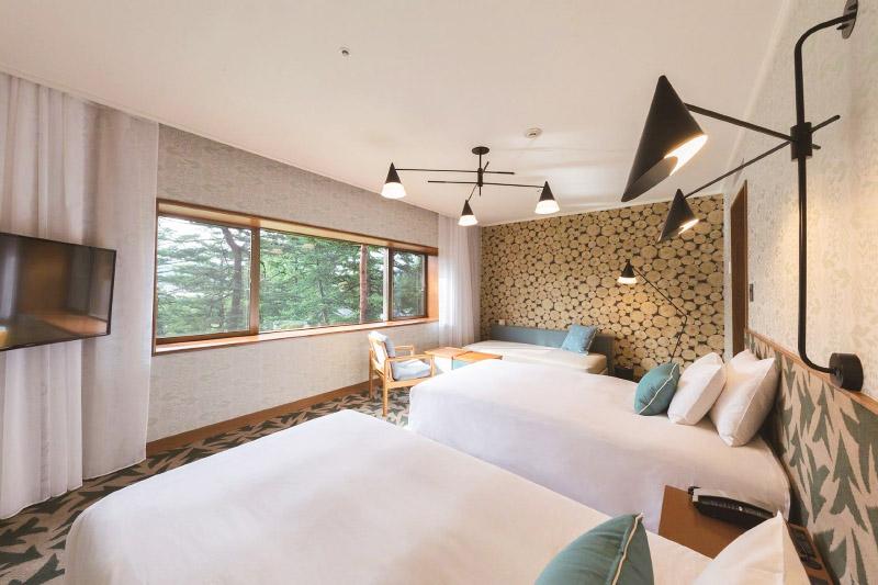 「軽井沢プリンスホテル イースト」の客室