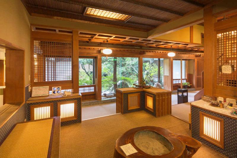 「御船山楽園ホテル」の温泉