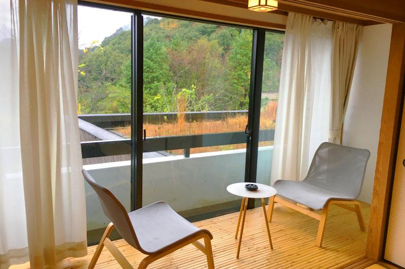 「御船山楽園ホテル」の客室