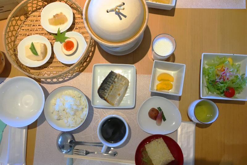 「御船山楽園ホテル」の食事