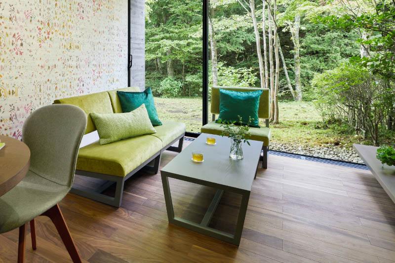 「星野リゾート リゾナーレ那須」の客室